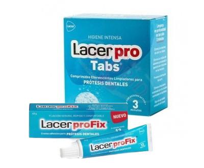 Productos para limpieza de prótesis dentales y dentaduras postizas