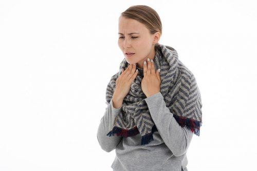 ¿Tienes dolor de garganta?