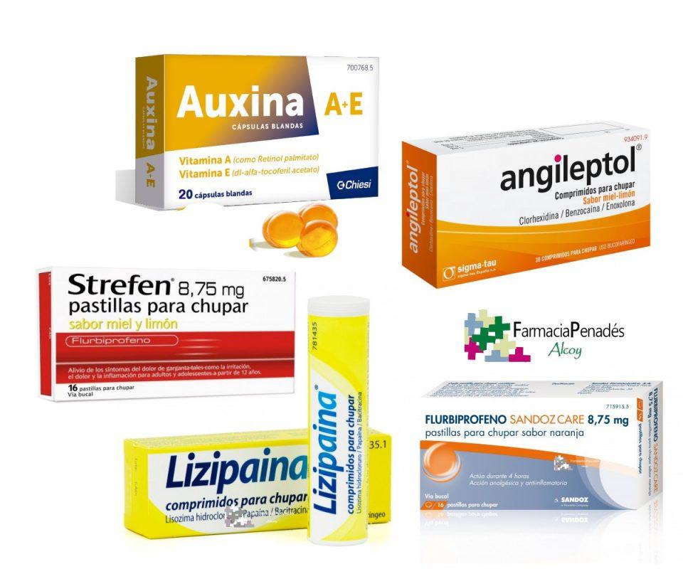 Medicamentos naturales contra el dolor de garganta