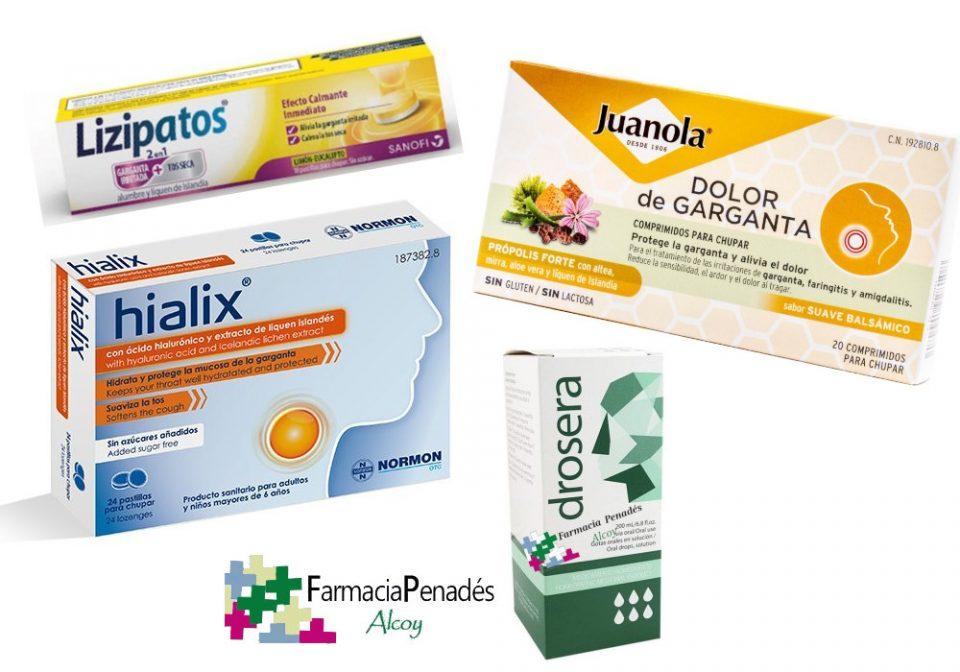 Productos naturales contra el dolor de garganta