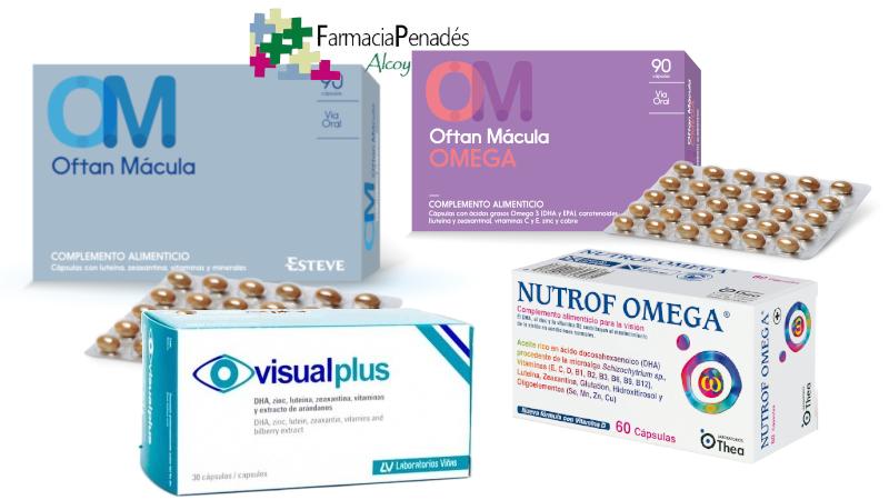 Complementos nutricionales con omega 3 para cuidar la vista y prevenir el ojo seco