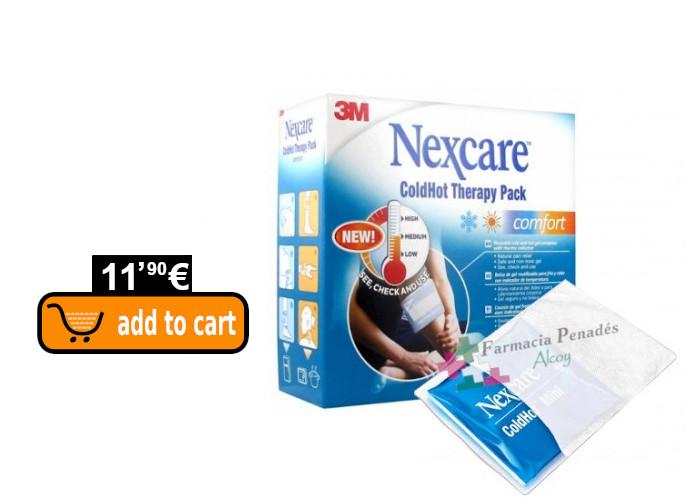 Nexcare ColdHot bolsa de frio-calor para rebajar el dolor y la inflamación de las picaduras.